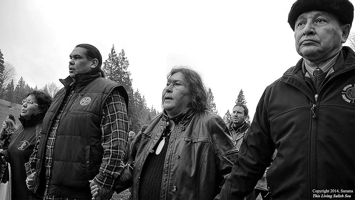 Tsleil Waututh members